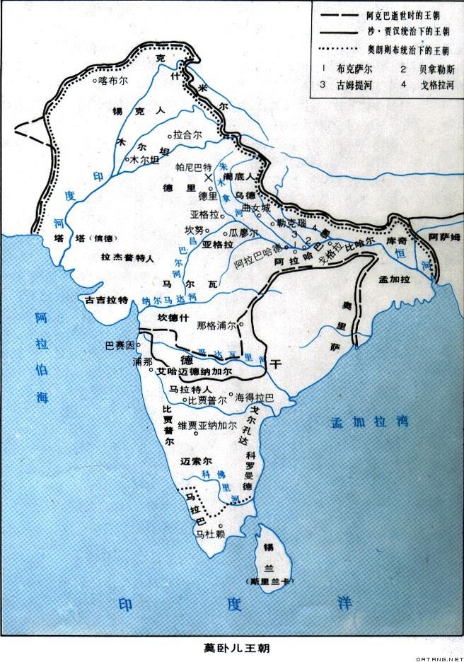 대청제국, 오스만제국, 무굴제국의 비교 (II)