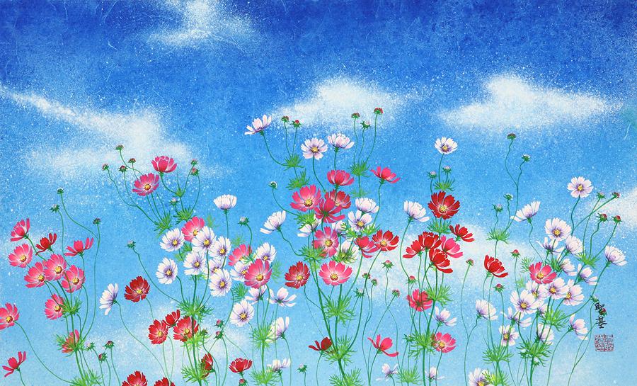 【秋天的波斯菊】 - 空山鸟语 - 月滿江南