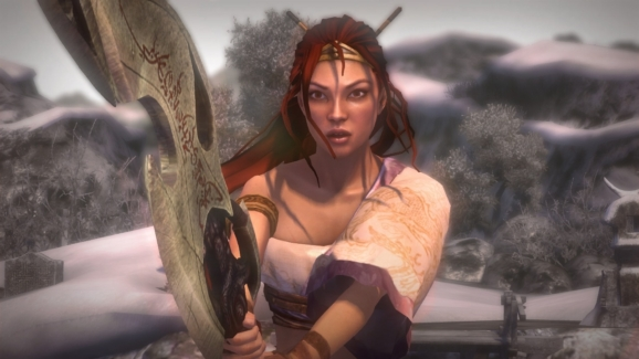 [게임리뷰] Heavenly Sword: 그녀, 검을 뽑다