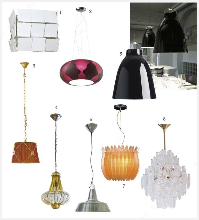 [웨프,웨딩21]디자인과 소재, 용도까지 다양한 조명 컬렉션